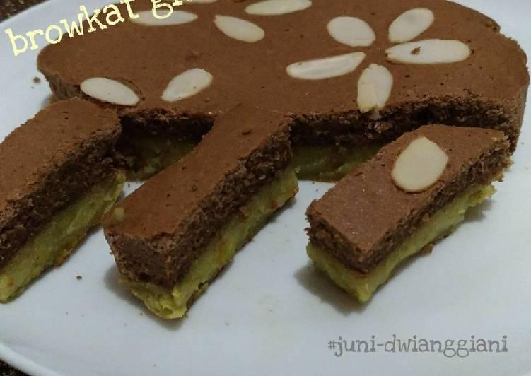 Resep Browkat gluten free #BrowniesAlpukat