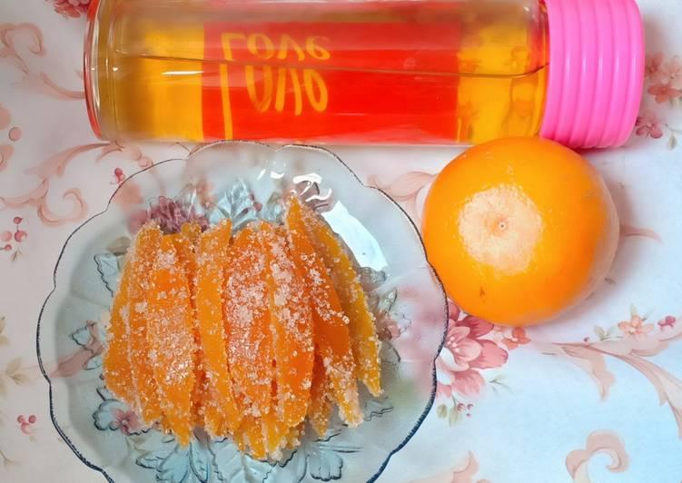 Resep Orange Gummy & Syrup