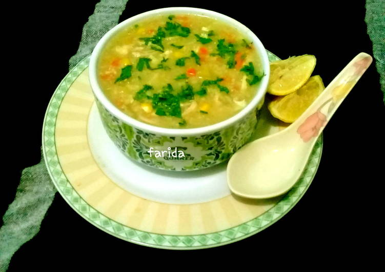 Resep Arabic Syurba/ Chicken Oat Soup