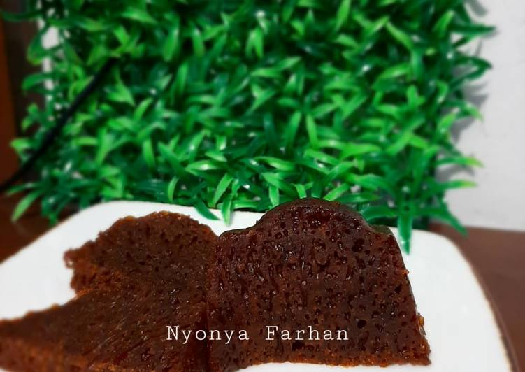 Resep Bolu Karamel (Bolu Sarang Semut)