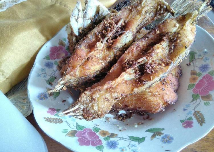 Resep Gurame goreng sederhana