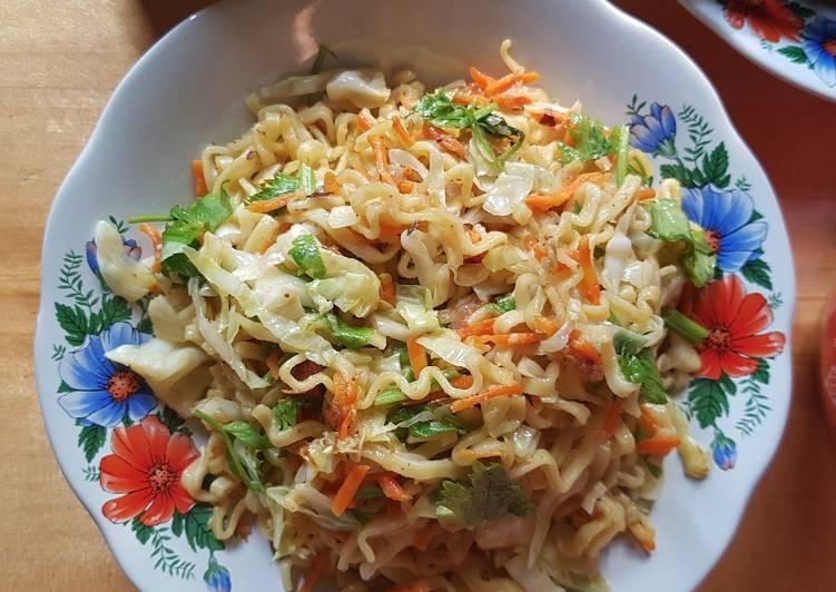 Resep Mie goreng simpel sehat