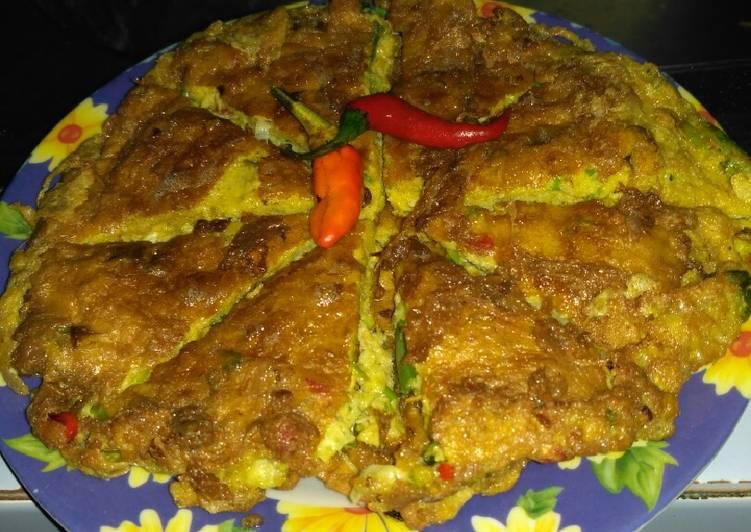Resep Telur dadar ala RM Padang