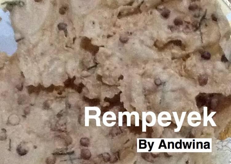 Resep Rempeyek kacang