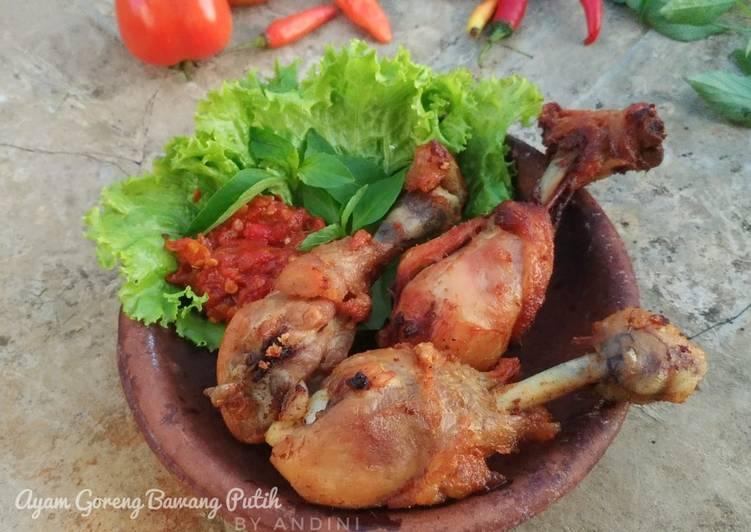 Resep Paha Ayam Goreng Bawang Putih