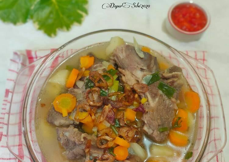 Resep Soup Iga Sapi