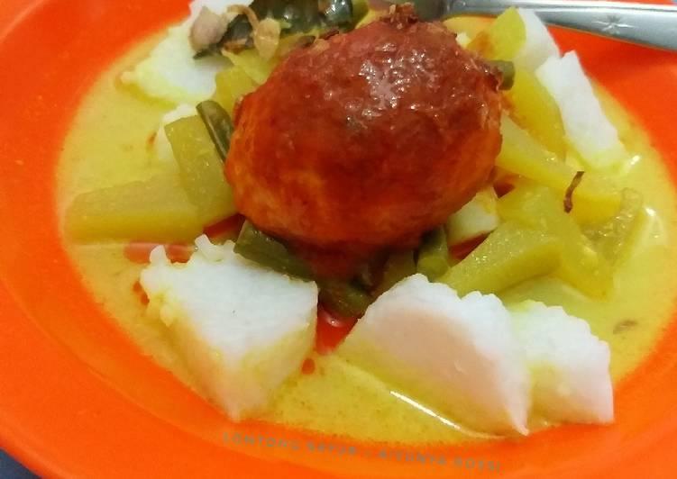 Resep Lontong sayur
