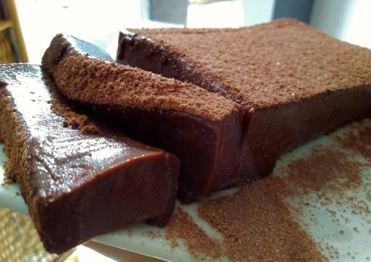 Resep Mousse coklat 3 bahan