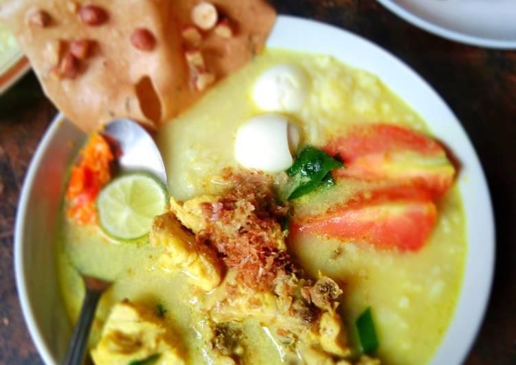 Resep Soto Betawi (daging&tulang ayam)