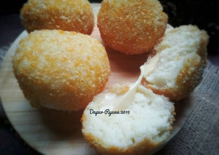 Resep Roti Goreng Keju Melted (no ulen)