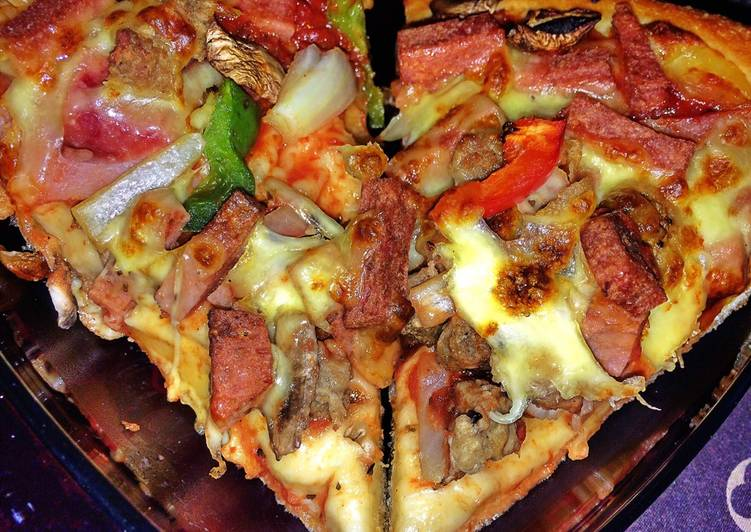 Resep Pizaa cinta
