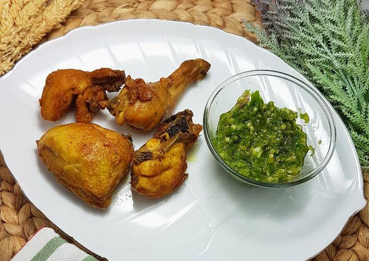 Cara Menyiapkan Ayam Batokok Lado Mudo Mudah Banget