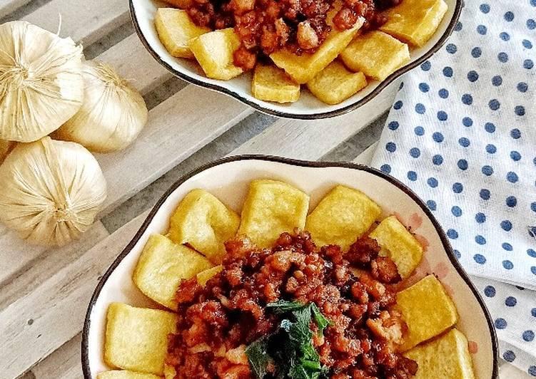 Resep Stir Fry Beef Tofu