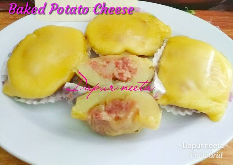 Resep Baked Potato Cheese