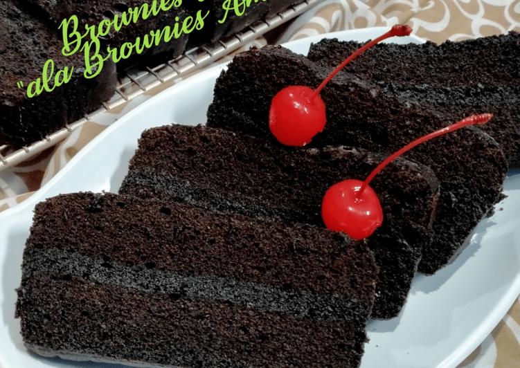 Resep #Brownies Kukus...
