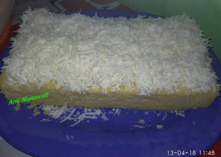 Resep Cassava Chesse Cake (cake keju singkong) Maknyuss