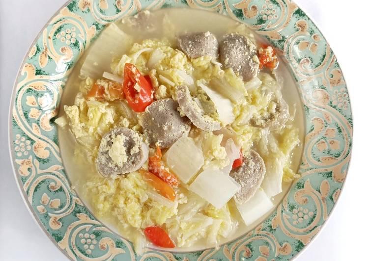 Resep Sayur Sawi Putih