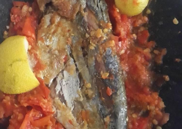 Resep Geprek ikan peda