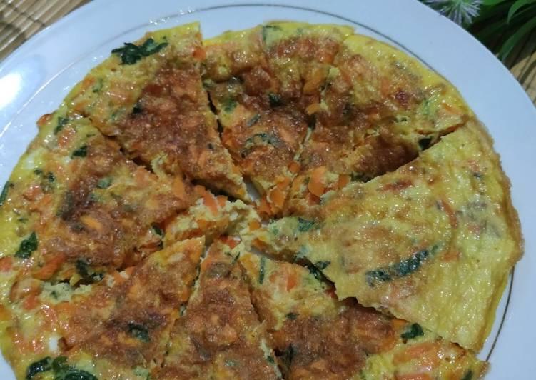 Resep Telur Dadar wortel