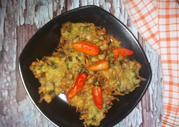 Resep Potato Fritters a.k.a Cucur Kentang