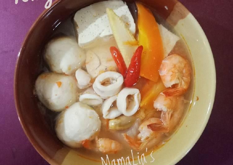 Resep Tomyam Seafood Ulala