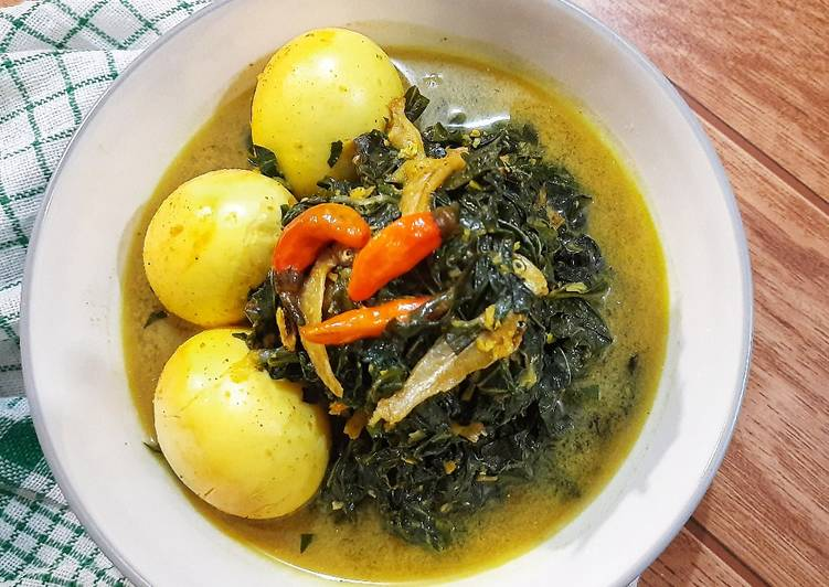 Resep Sayur Daun Singkong (ala Rainbow Kitchen)