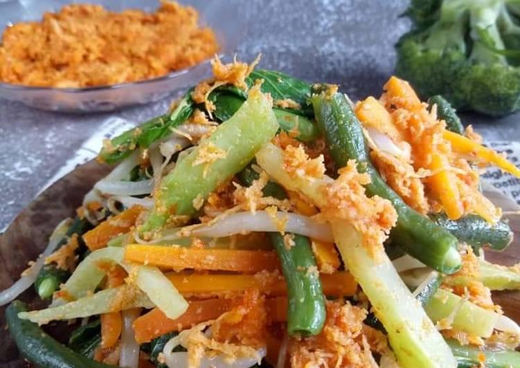 Resep Urap sayur bonggol brokoli