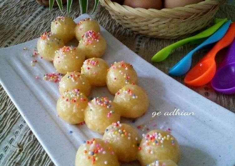 Resep Mochido (Mochi Donuts)