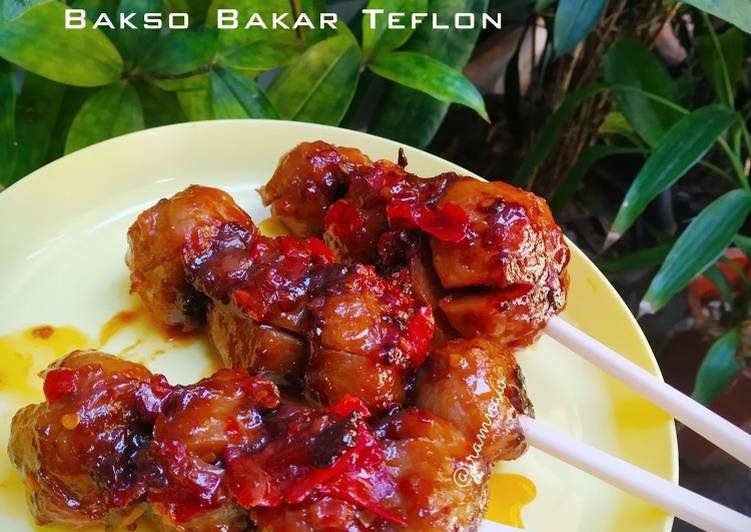 Resep Bakso Bakar Teflon