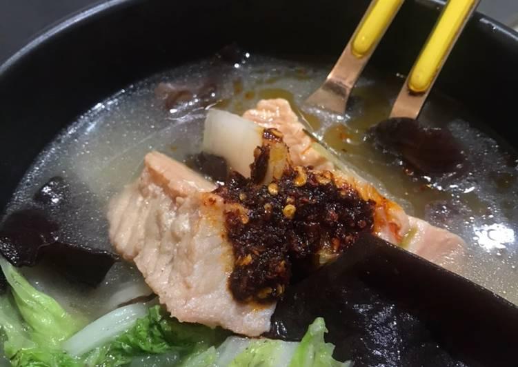 Resep Ikan Tuna Sup Asam Pedas - Suegeeerr!