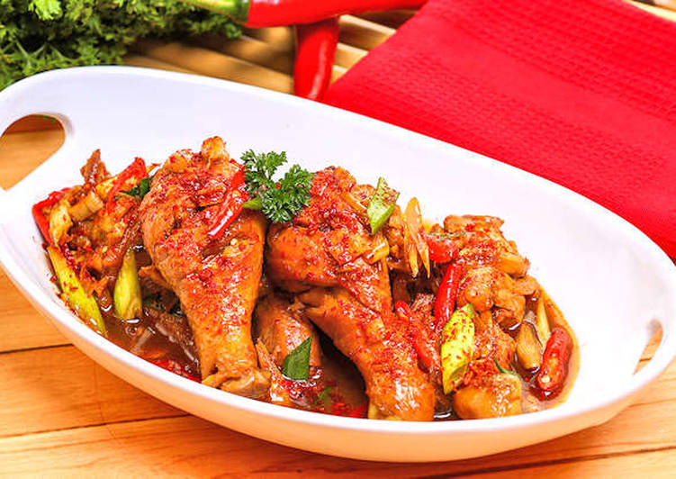 Resep Ayam Masak Pedas