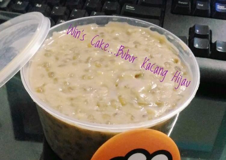Resep Bubur Kacang Hijau...Methode 5:30:7