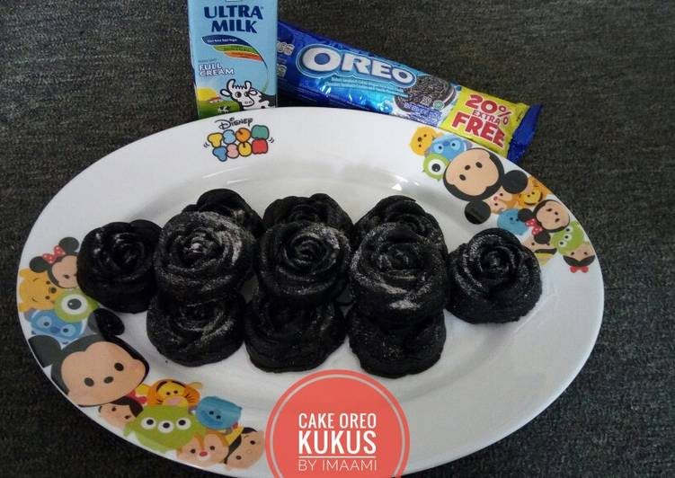 Resep Cake Oreo Kukus