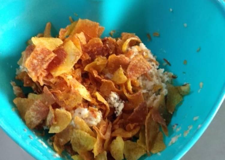 Resep Kering kentang ebi