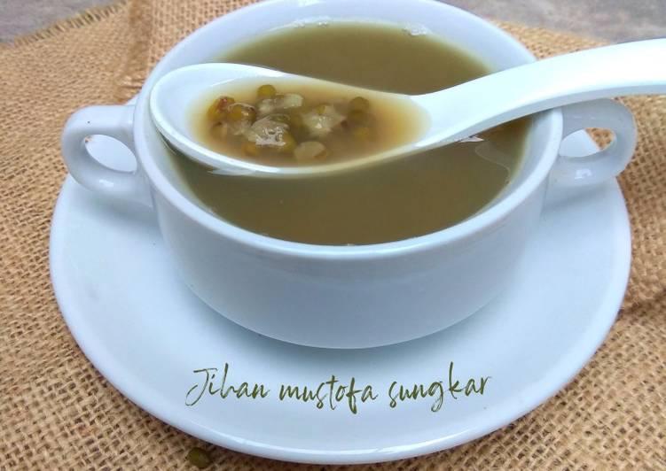 Resep Wedang kacang ijo #semarak_cangjo #berburucelemekemas