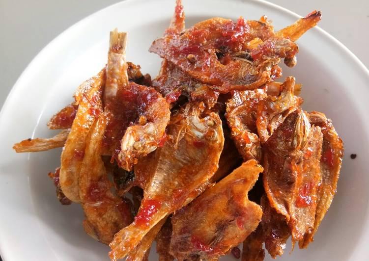 Resep Ikan asin bumbu merah