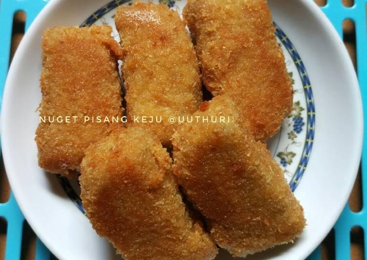 Resep Nugget pisang keju (mpasi 11+)