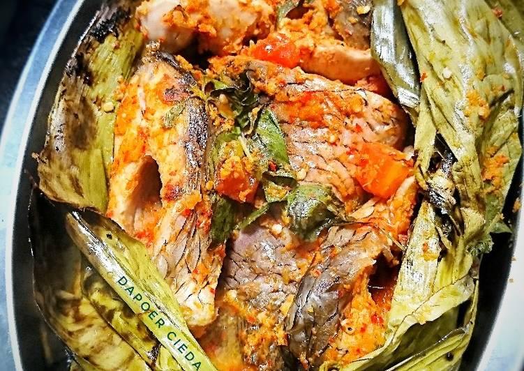 Resep Pepes Ikan Mas Cabe Bawang