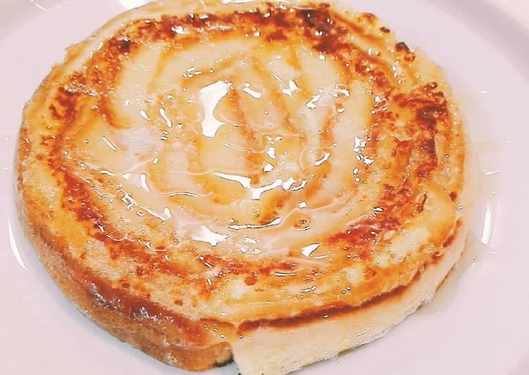 Resep Honey roll bread dari kulit roti tawar - super simple and yummy