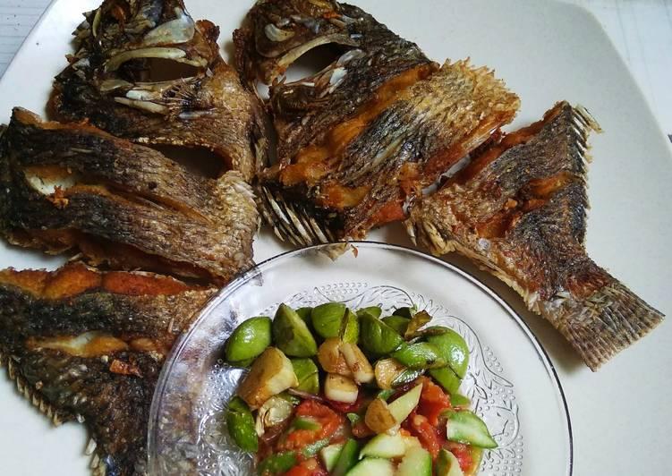 Resep Nila goreng sambal Ramania