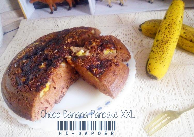 Resep Choco Banana Pancake Size : XXL