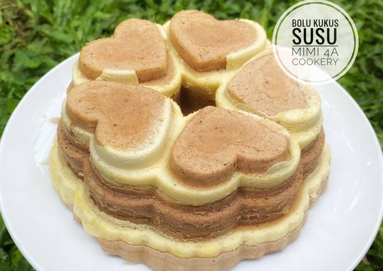 Resep Bolu Kukus Susu (metode all in one)