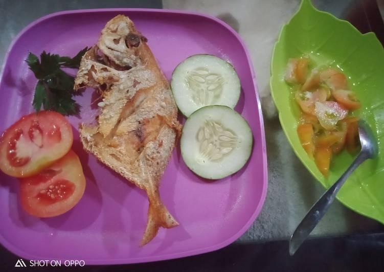 Resep Lombok tomat jeruk nipis