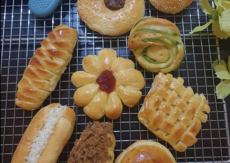 Resep Basic Soft Bread