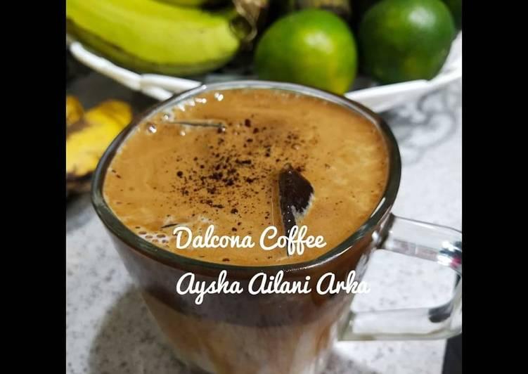 Resep Dalgona Coffee