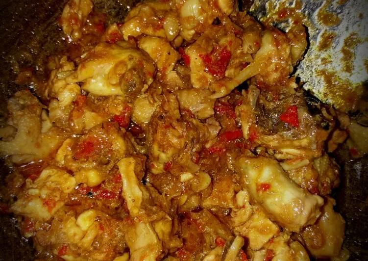 Resep Ayam Rica Merah