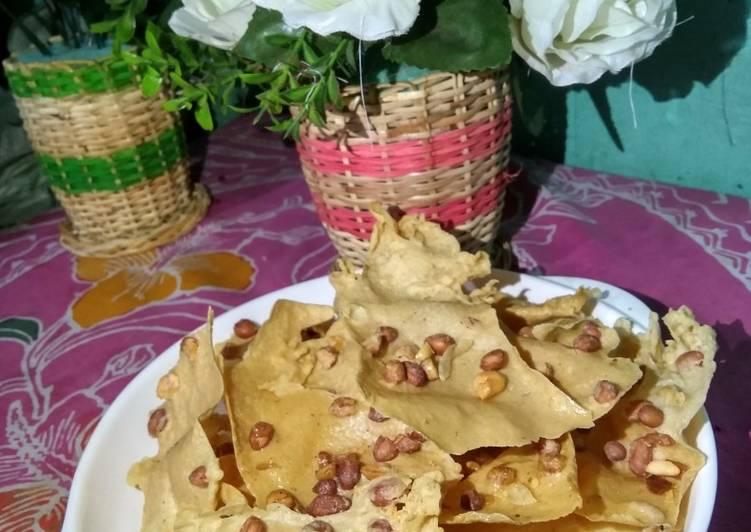 Resep Rempeyek kacang tanah