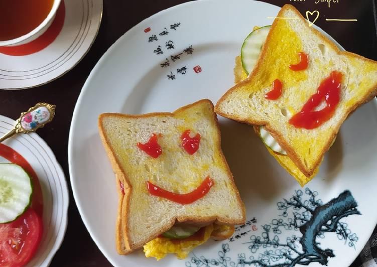 Resep Roti Sandwich Telur Simpel #68