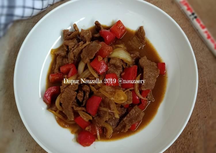Resep Beef Yakiniku Simple