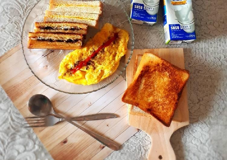 Resep Tips roti bakar//panggang anti lama